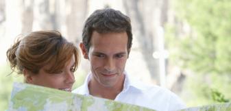 Turistas en Barcelona tri